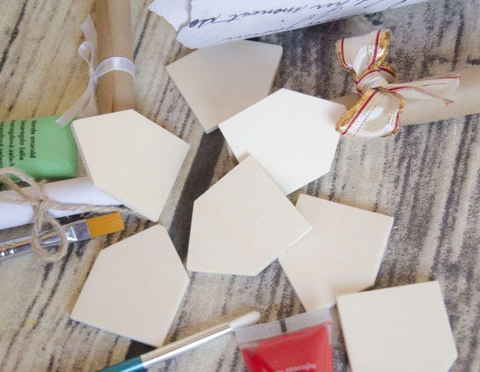 Baza blank casuta din lemn