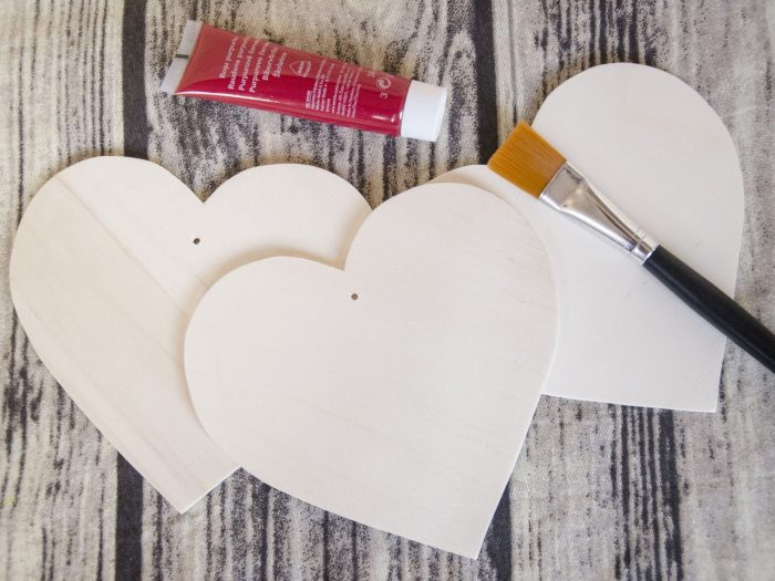 baza inima de lemn