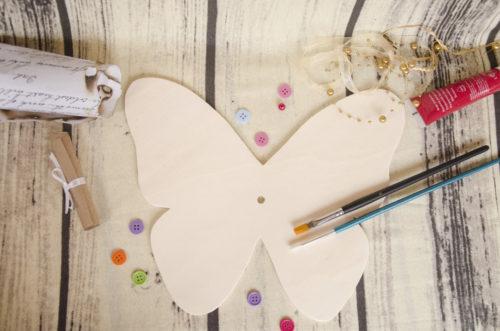cadran ceas fluture