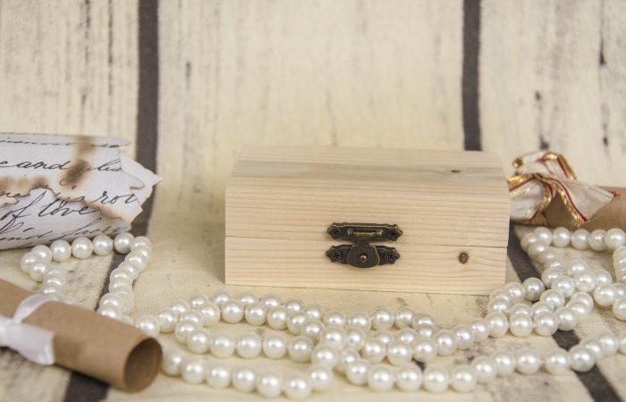 cutie din lemn pentru verighete
