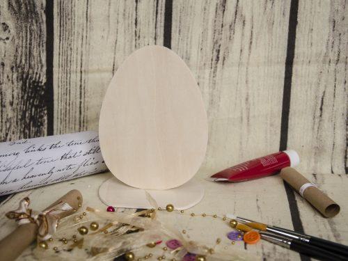 Blank suport cu forma de ou