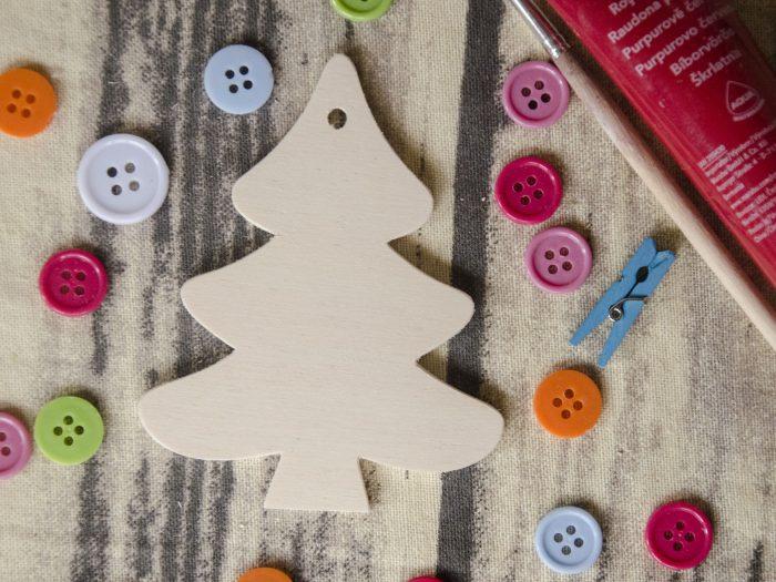 bradulet ornament blank lemn
