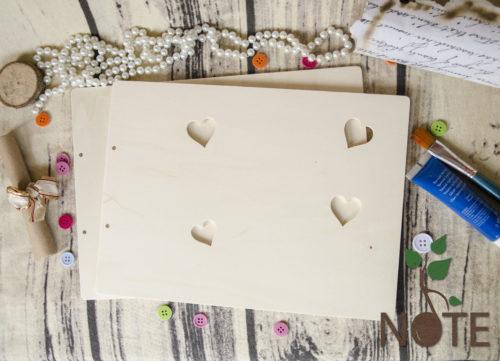 coperta din lemn pentru album foto