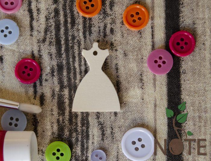 rochie din lemn