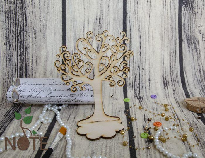 copac decorativ cu talpa