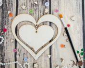 baza decoratiune inima