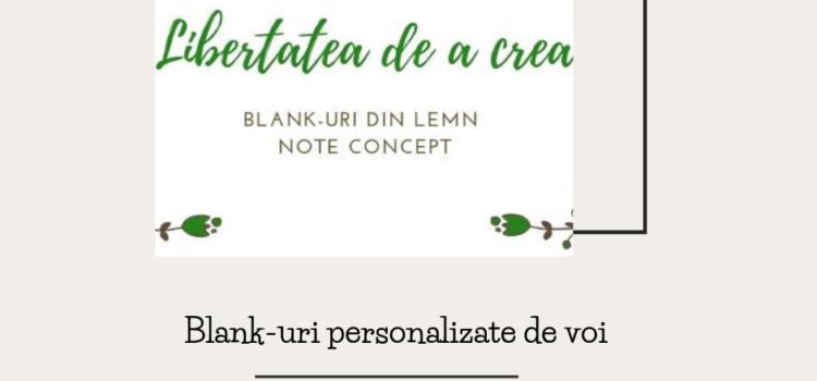 Blank-uri personalizate de voi