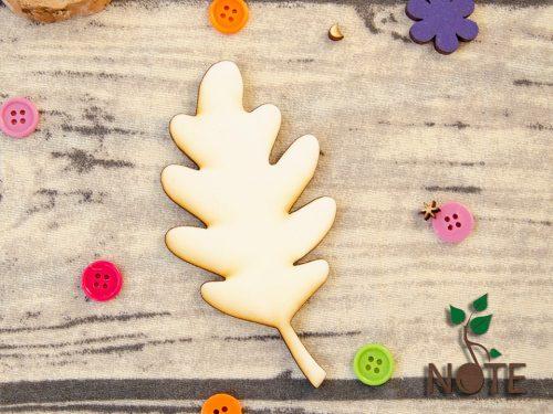 frunza stejar din lemn