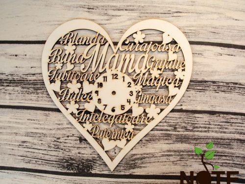 Blank ceas inima pentru mama