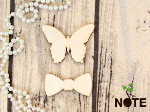 Blank set fluture si papion pentru umerase