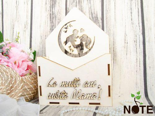 blank cutie plic cu model pentru mama