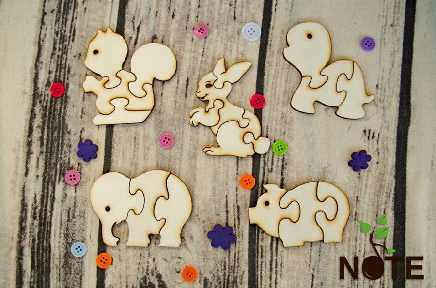 blank set animale puzzle pentru copii