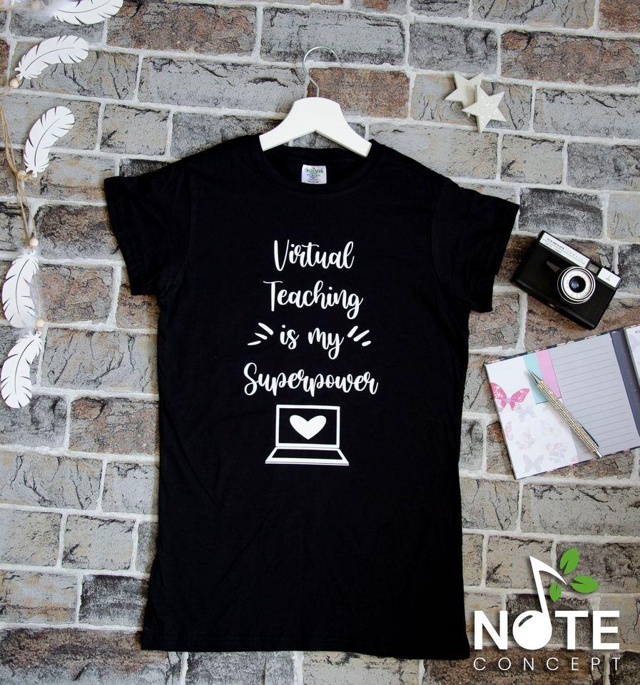 Tricou personalizat pentru invatatoare/profesoara