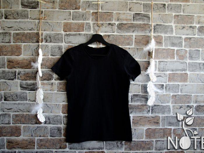 tricou simplu dama negru