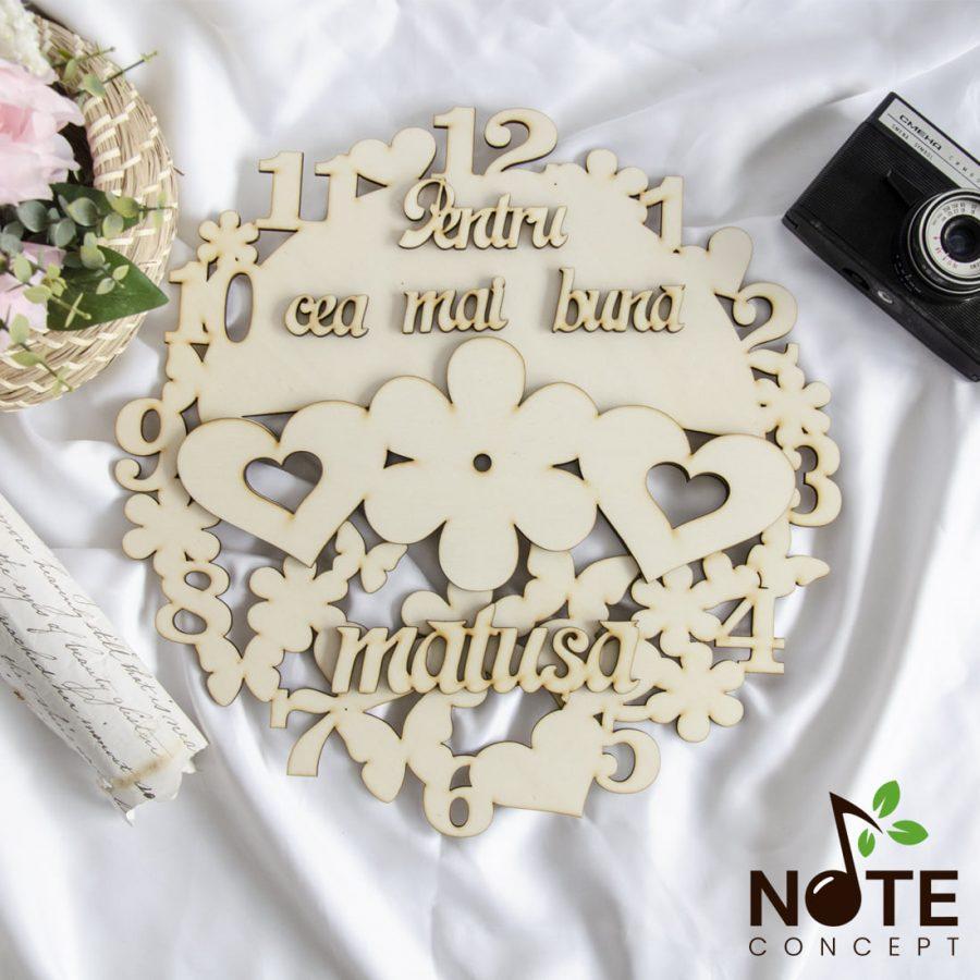 Blank ceas cu mesaj pentru cea mai bună cei mai buni cea mai buna matusa