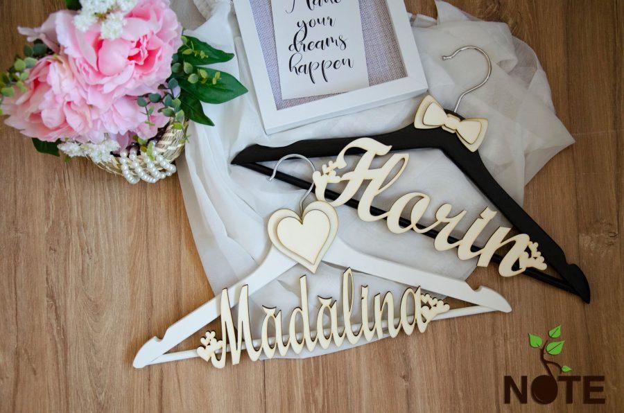 Set umerase personalizate pentru nunta