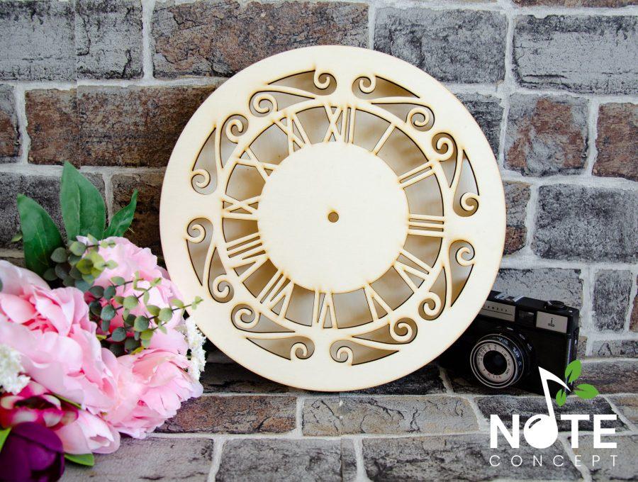 blank ceas adanc cu cifre romane