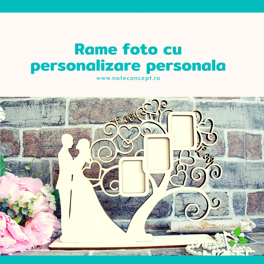 rama foto ca baza pentru pozele de nunta