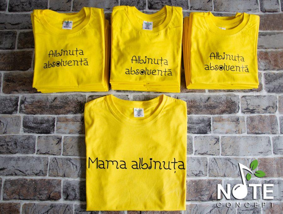 set tricouri pentru invatatoare si copii