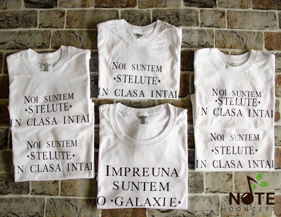 tricouri personalizate pentru sfarsit de an scolar